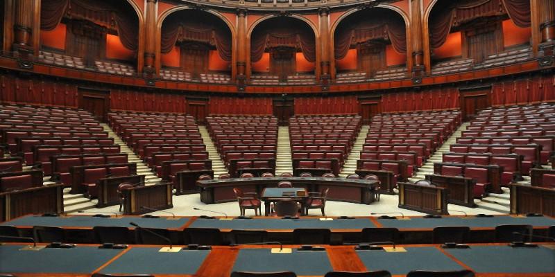 nota sui lavori parlamentari settimana dal 16 al 20