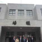 Davanti al Parlamento di Taiwan